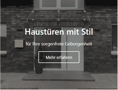 Haustüren und Türen in Rheine vom Schreiner
