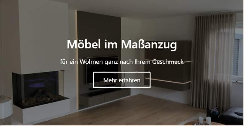 Möbelbau nach Maß in Bad Bentheim vom professionellen Tischler