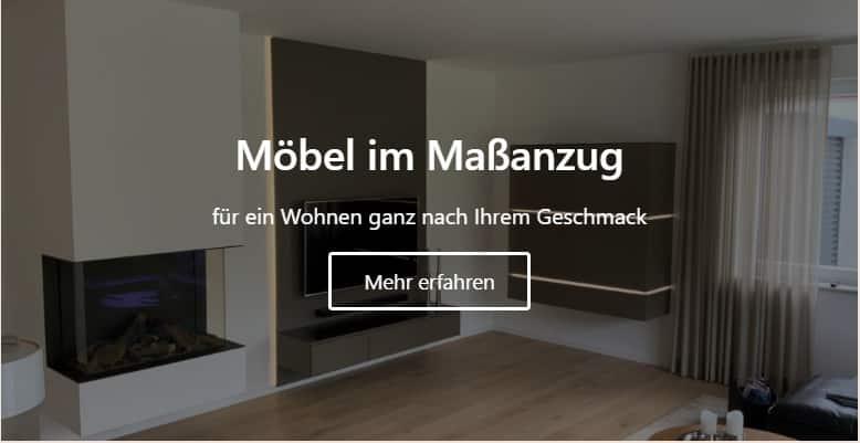 Möbelbau nach Maß in Rheine vom professionellen Tischler